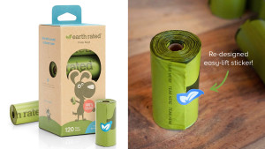 compostable doggie bags for cleaning up after your pet