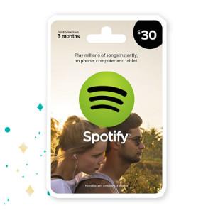 Amazon Spotify Gift Card