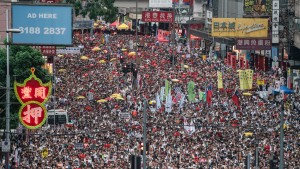 Hong Kong protests over extradition law