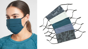 soft face masks ideal for working out, come in multiple patterns, colors, and sizes