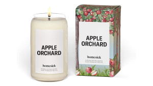 apple orchard inspired candle