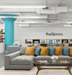 Couches at theSkimm HQ
