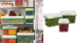 produce containers that are ventilated and can keep your fruits and veggies fresh for longer