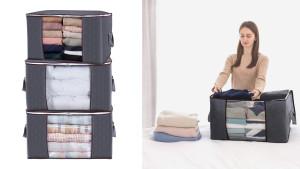 Fabric storage bags