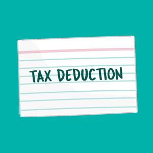 Tax Deduction FSL card