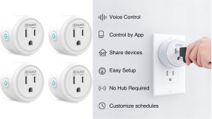 smart plugs so you can voice-control devices