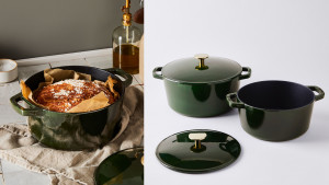enamel-coated dutch oven