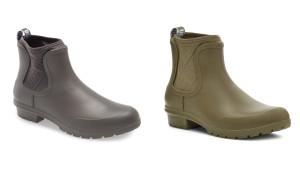 Chelsea-style rain boots