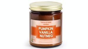 pumpkin vanilla nutmeg candle