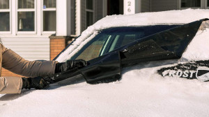 windshield frost guard for cars