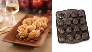 autumn-themed muffin pan