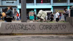 political turmoil in Peru