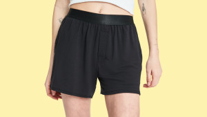 boxer shorts that are comfy to sleep and lounge in with pockets