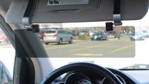 A car visor