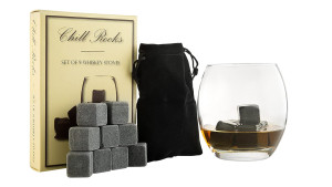 whiskey stones that'll chill your drink