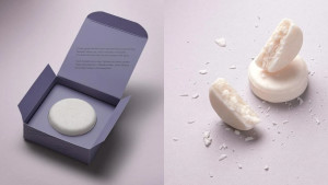 shampoo bar that comes in recyclable packaging
