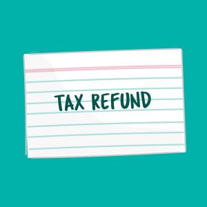 Tax Refund FSL card