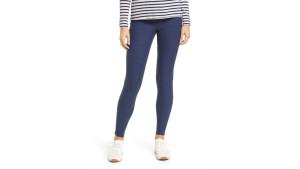 denim fleece-lined leggings