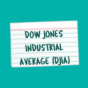 Dow Jones Industrial Average (DJIA) card