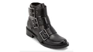 black buckle biker boots