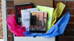 A used-book subscription