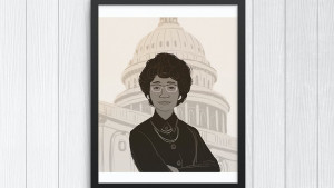print of shirley chisholm