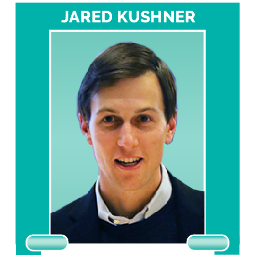 Jared Kushner is one of President Trump's advisers and his son-in-law