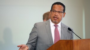 Minnesota Attorney General Keith Ellison announces new charges.