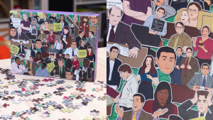 "a themed ""The Office"" puzzle"