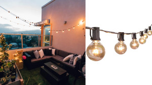edison string bulb lights