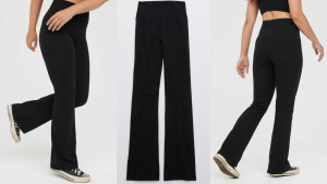 flare leggings for lounging