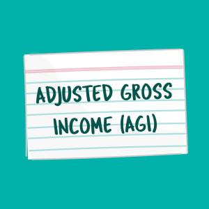 AGI FSL flashcard