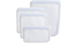 reusable food storage silicone bags