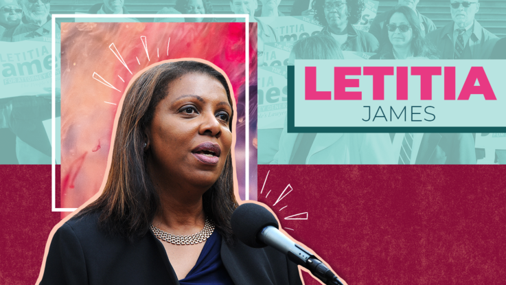 BHM - Letitia James