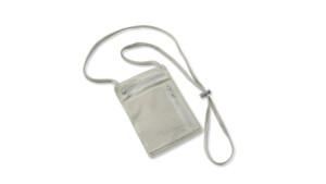 RFID-blocking necklace wallet