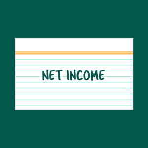 Net Income index card