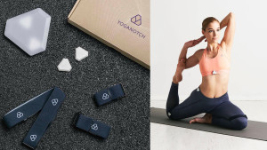 motion sensor to help you with your alignment during yoga