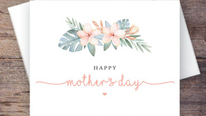 downloadable and printable mother's day card
