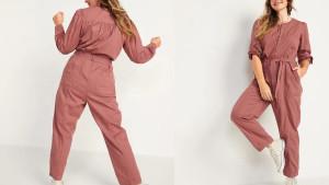 A zip-front cropped jumpsuit…