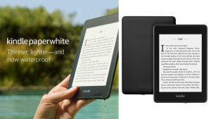 kindle paperwhite that's lightweight and waterproof for everyday reading