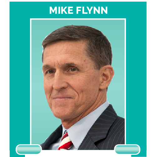 Michael Flynn is the former national security adviser for the Trump administration