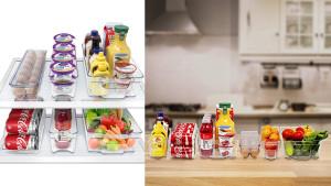 clear plastic storage bins for you fridge