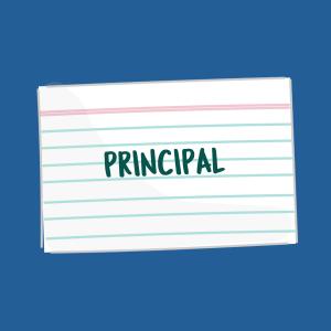 PrincipalFSL card