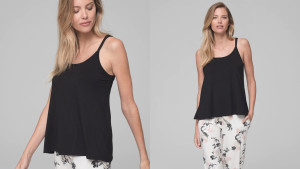 loose-fitting camisole for hot sleepers