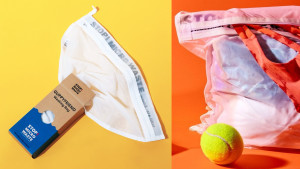 washing bag to catch microfibers from clothes during washing cycle