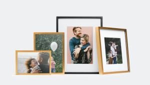 metal tabletop photo frames