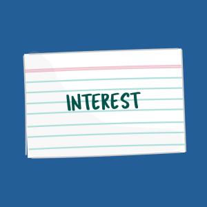 Interest HB FSL card