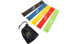 rubber resistance bands for home workouts