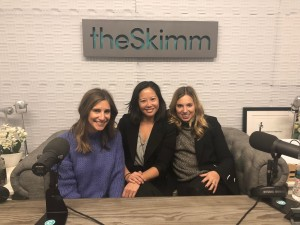 Hosts and Tracy Sun in Studio