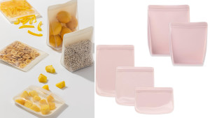 silicone reusable bags to store food and other knick knacks